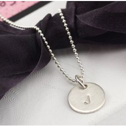 Petite Initial Necklace