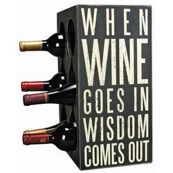 Double Sided Wine Bottle Holder