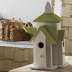 Wooden Abbey Grange Birdhouse