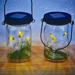 Solar Firefly Lantern Set
