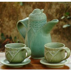 Sweet Corn Ceramic Tea Set