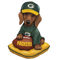Green Bay Packers Sunday Afternoon Quarter-Bark Figurine