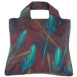 Grassland Feathers Reusable Shopping Bag