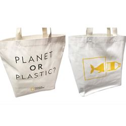 Bags Planet or Plastic? Earthwise Tote Bag