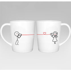 Say I Love You Matching Couple Mug Set