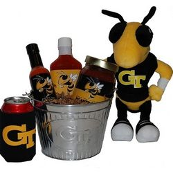 Georgia Tech Tailgate Grilling Gift Basket