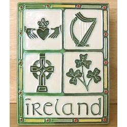 Irish Emblem Plaque