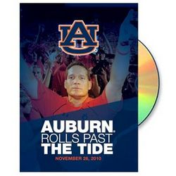 Auburn Tigers 2010 Iron Bowl DVD