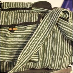 Big Green Eco Cotton Duffel Bag