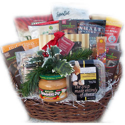 Holiday Office Suite Healthy Gift Basket