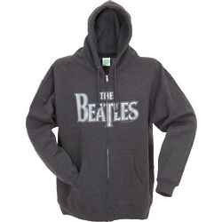 The Beatles Men's Zippered Hoodie