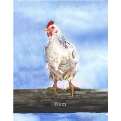 Chicken I 8x10 Fine Art Print
