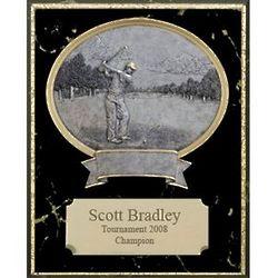 Golf Legend Personalized Plaque
