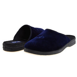 Men's Velour Slippers