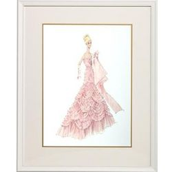 Barbie Couture Framed Print