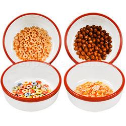 Retro Printed Cereal Bowl Set