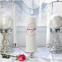 Personalized Elegance Unity Candle Set