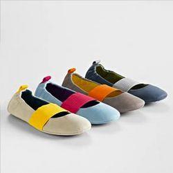 Acorn Via Wrap Slip-On Shoes