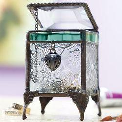 Art Glass Trinket Box