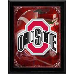 Ohio State Buckeyes Sublimated Plaque