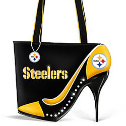 Pittsburgh Steelers Kick Up Your Heels Handbag