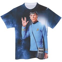 Classic Star Trek Spock Sublimated T-Shirt