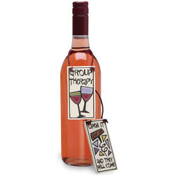 They Will Come Handpainted Wine Bottle Tag
