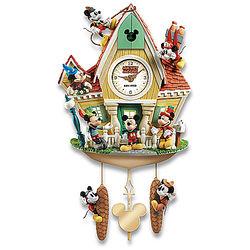 Disney Mickey Mouse Through the Years Cuckoo Clock