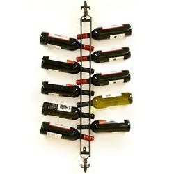 Twelve Bottle Hanging Wine Rack