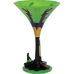 Wicked Witch the 3rd Martini Glass