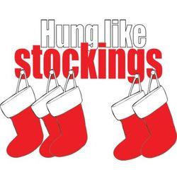 Hung Like Stockings Long-Sleeve T-Shirt