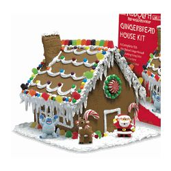 Rudolph the Red Nose Reindeer Gingerbread House