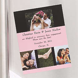 Personalized Save the Date Photo Magnets