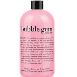 Philosophy Bubble Gum Blow Out Shampoo, Shower Gel & Bubble Bath