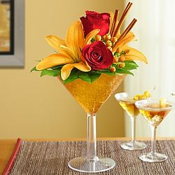 Pumpkin Spice Martini Bouquet