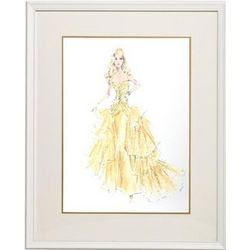 Barbie Couture 50th Anniversary Framed Print