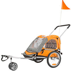 Lightweight Kid's Bike Trailer and Stroller