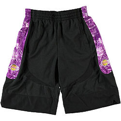 Kid's Los Angeles Lakers Blueprint Basketball Shorts