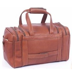 Mini Leather Duffel Bag
