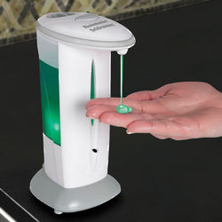 Hands Free Adjustable Soap Dispenser
