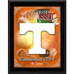 Tennessee Volunteers Sublimated Plaque