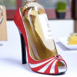 Red Splendor Stiletto Wine Holder