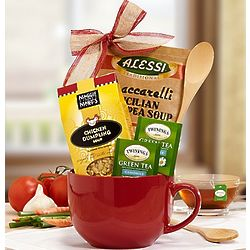 Soups On Gourmet Basket