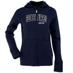 Seattle Seahawks Ladies Signature Full Zip Hoodie