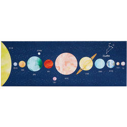 Personalized Zodiac Solar System Wall Art