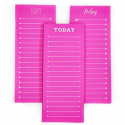To Do Today Note Pad in Neon Pink