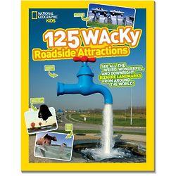 125 Wacky Roadside Attractions Book