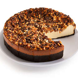 "9"" Turtle Cheesecake"