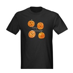 Jack-O-Lantern Halloween Adult T-Shirt