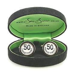 Fifty Something Cufflinks